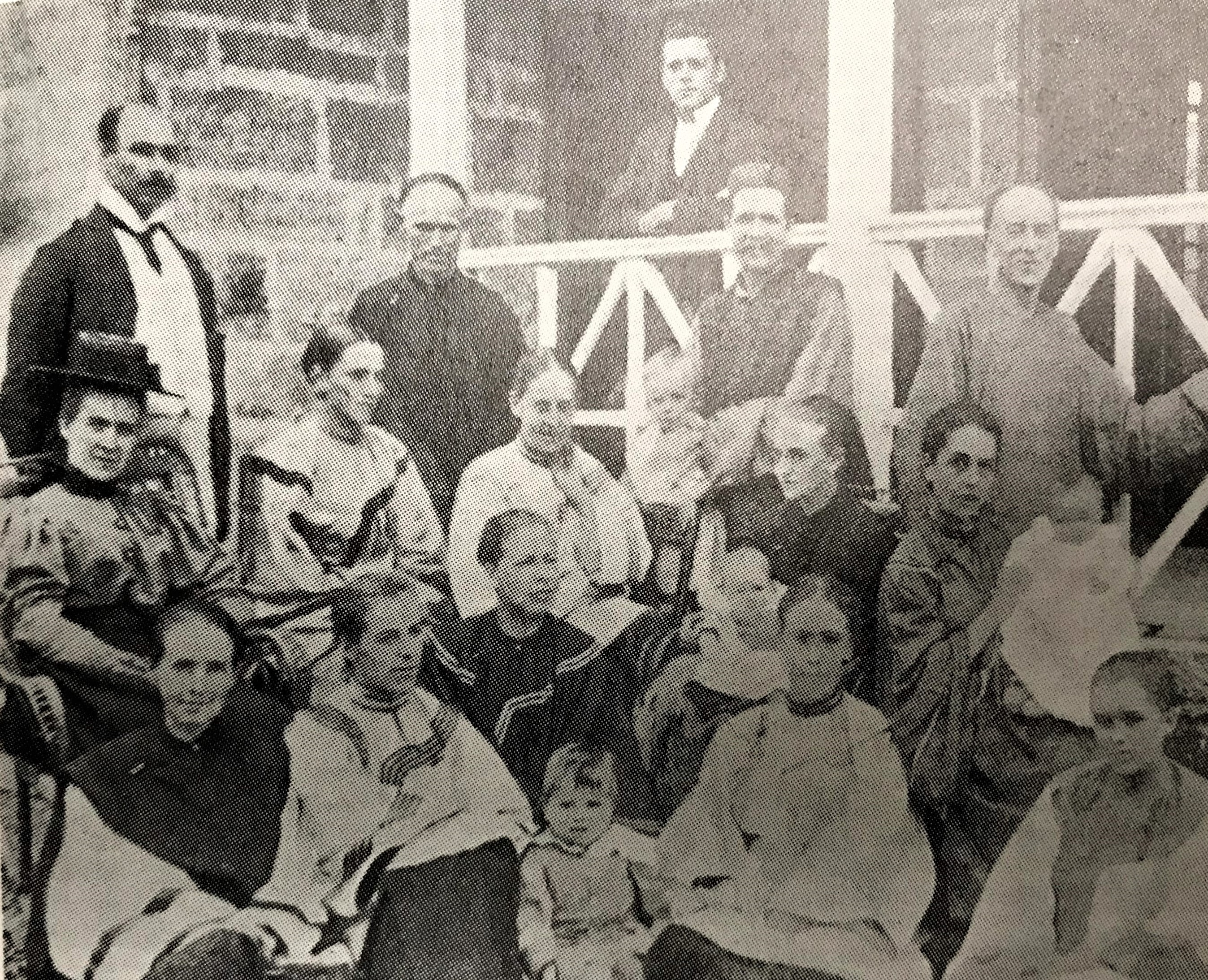 First missionaries from the USA